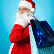 Lets go shopping with Santa this Christmas — Stockfoto