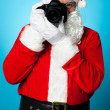Stock Photo: SantClaus turns into pro photographer