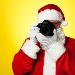 zeg kaas! Santa vastleggen van een perfect moment — Stockfoto