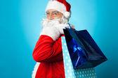 Pojďme nakupovat s santa to vánoční — Stock fotografie