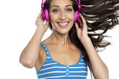 I am loving this music, are you? — 图库照片