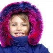 Cute girl winter portrait — Stock Photo