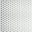 Perforated metal grid texture - Foto de Stock  