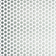Perforated metal grid texture — Stock Photo