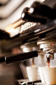 Coffee machine espresso — Stock Photo