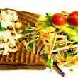 Stock Photo: Grilled sandwich with mushroom mayonnaise