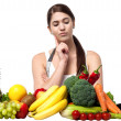 Which fruit or vegetable should I pick? — 图库照片