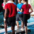 Fit working out in fitness centre — Stock Photo #25308209