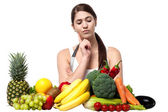 Which fruit or vegetable should I pick? — Stock Photo