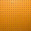 Peg board texture closeup — Stock Photo