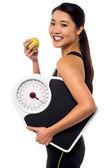 Mangiare sano, restare in forma! — Foto Stock