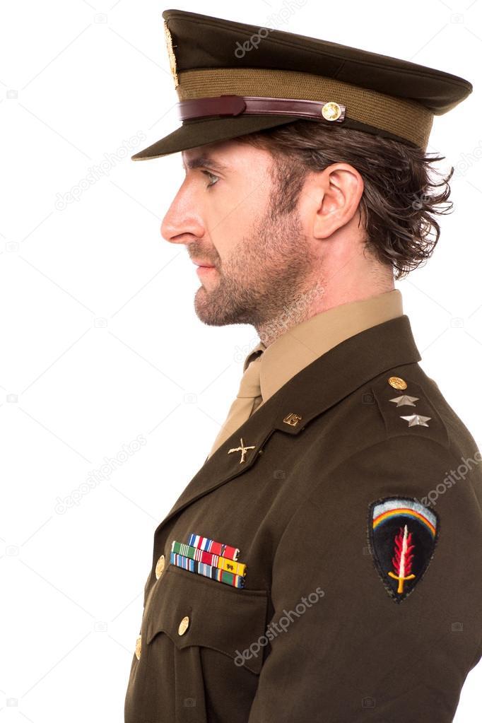 офицерская поза фото