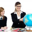 It's time for some geography lessons — Stock Photo