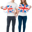 We are proud British supporters — Stock Photo
