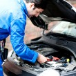 Mechanic repairing car's engine — Foto de stock #30752229