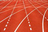 Retro sport running track — Stock Photo
