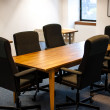 Modern office meeting room — Stock Photo