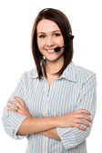 How can I assist you today? — Stock Photo
