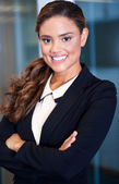 Confident young businesswoman — Stock Photo