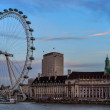 Stock Photo: View of South Bank, Tourist Attraction