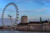 View of South Bank, Tourist Attraction — Stock Photo