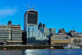 View Across Thames River, London — Foto Stock