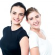 Two teen friends — Stock Photo
