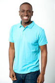 African middle aged casual man — Stock Photo