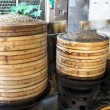 bamboo steamer — Stock Photo