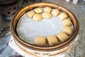 Brown Sugar Steamed Buns — Stock Photo