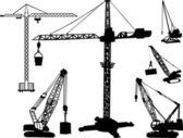 Coleção de construção — Vetorial Stock