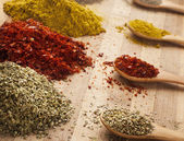 Spices dof — Stock Photo