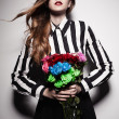 Fashion roses — Stock Photo