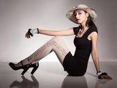 Fashion sit — Stock Photo