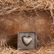 Box of heart — Stock Photo