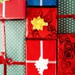 Stock Photo: Gift background