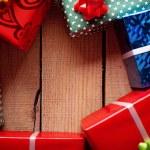 Gift frame — Stock Photo