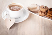 Coffee cookie — Stock Photo