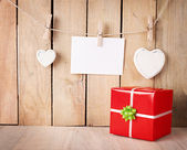 Gift paper — Stock Photo