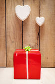 Gift wall — Stock Photo