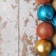 Colorful new christmas ornaments — Stok fotoğraf