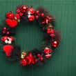 Stock Photo: Xmas wreath