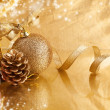 Stock Photo: Christmas background design