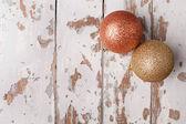 New christmas balls — Stock Photo
