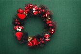 Xmas wreath — Stock Photo