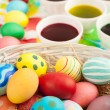 Stock Photo: Easter focus