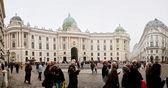 Palacio de hofburg — Foto de Stock