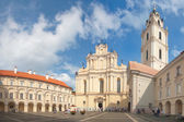 VILNIUS, LITHUANIA, AUGUST 10: Vilnius University — Stock Photo