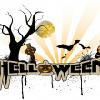 Helloween background — Stock Vector
