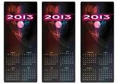 Calendar 2103 — Stock Vector
